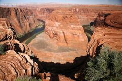 Colorado River, Horseshoe Bend,Arizona. USA Stock Image