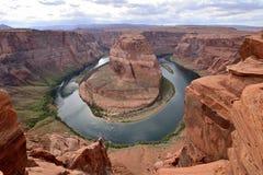 Colorado River at Horseshoe Bend Royalty Free Stock Photos