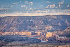 Colorado River in Horsethief Canyon Stock Photography