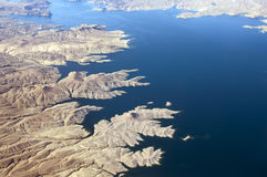Colorado River and Lake Mead Royalty Free Stock Photography