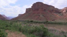 Colorado River Landscape stock video footage