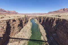 Colorado River Marble Canyon Arizona Royalty Free Stock Photos