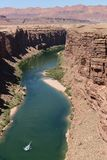 Colorado River at Marble Canyon – Vertical Royalty Free Stock Image