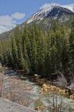 Colorado river and mountains Stock Photo