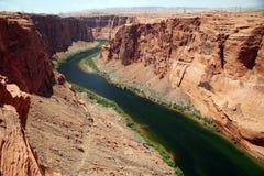 Colorado river near to the Glen canyon dam, USA Royalty Free Stock Image