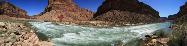 Colorado River Rapid Stock Photo