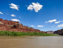 On the Colorado River Royalty Free Stock Photo