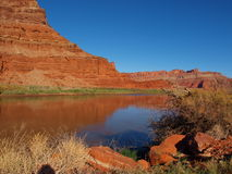 Colorado River Reflections Royalty Free Stock Photo