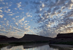 Colorado River before sunrise Royalty Free Stock Photography