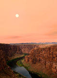 Colorado River Sunset Royalty Free Stock Image