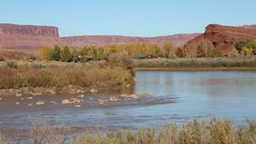 Colorado River Valley stock video