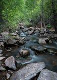 Colorado Riverscape en primavera Foto de archivo libre de regalías