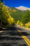 Colorado Road In Fall Royalty Free Stock Photo