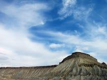 Colorado Rock Plateu and dramatic sky Royalty Free Stock Photos