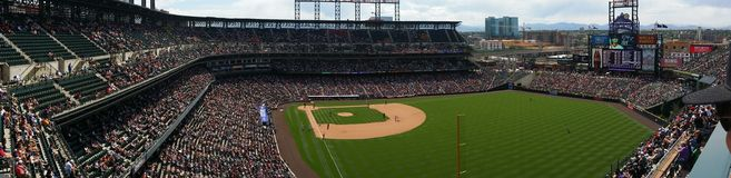 Colorado Rockies - Coors Field Stock Photo