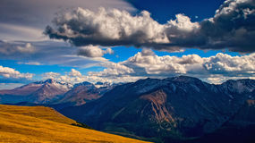 Colorado Rockies In Early Autumn Stock Photo