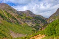 Colorado Rockies near Molas Pass. This photo was taken near Molas Pass  in the Colorado Rockies on Highway 550 near Silverton, Colorado Stock Photo