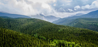 Colorado Rockies Scenic View Royalty Free Stock Image