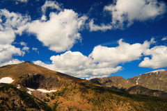 Colorado Rockies And Sky Stock Image