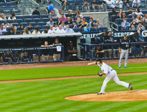 Colorado Rockies x New York Yankees Baseball Royalty Free Stock Photography