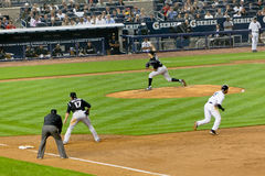 Colorado Rockies x New York Yankees Baseball Royalty Free Stock Images