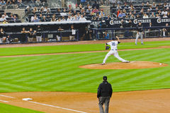 Colorado Rockies x New York Yankees Baseball Stock Photo