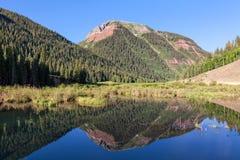 Colorado Rocky Mountain Reflection Royalty Free Stock Photos