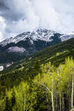 Colorado Rocky Mountain Storm Fotografie Stock Libere da Diritti