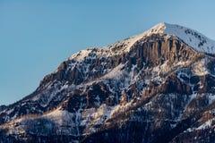 Colorado Rocky Mountain Sunrise Sunset. At Wolf Creek Pass near Pagosa Springs stock photos