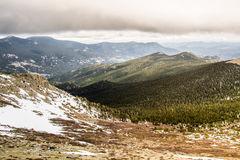 Colorado Rocky Mountain Sunset Royalty Free Stock Photo