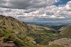 Colorado Rocky Mountain vista Stock Images