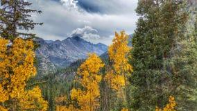 Colorado Rocky Mountains i Estes Park royaltyfria bilder