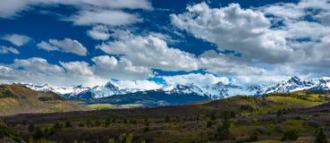 Colorado Rocky Mountains Landscape Foto de Stock Royalty Free
