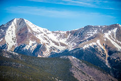 Colorado rocky mountains near monarch pass Stock Image