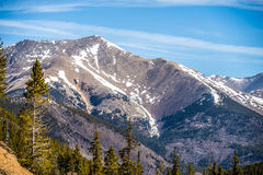 Colorado rocky mountains near monarch pass Stock Images