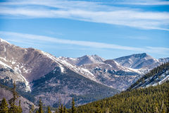 Colorado rocky mountains near monarch pass Stock Photo