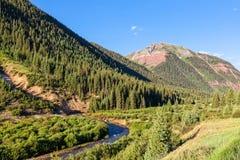 Colorado Rocky Mountains in Summer Stock Photo
