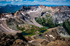 Colorado Rocky Mountains Top Of Sneffels Royalty Free Stock Photography