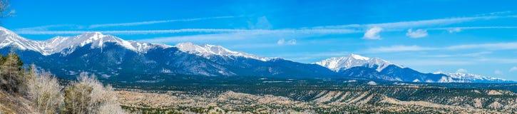 Colorado rocky mountains vista views Stock Photo