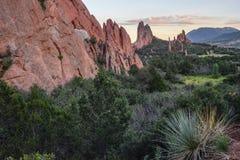 Colorado Rocky Mountians Imagem de Stock