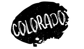 Colorado rubber stamp Stock Photos