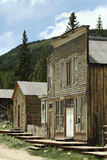Colorado's Best Ghost Town. Abandoned buildings in Saint Elmo Ghost town. St. Elmo is Colorado's best-preserved ghost town and a popular tourist attraction Stock Photos