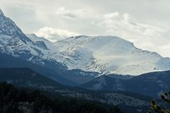 Colorado ` s Rocky Mountains Royalty-vrije Stock Foto