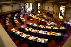Colorado Senate. A view of the Colorado Senate chambers Stock Photography
