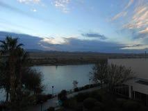 Colorado sikt från Laughlin Arkivfoton