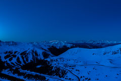 Colorado Ski Country Fotografering för Bildbyråer