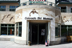 Colorado Ski Museum Stock Photo