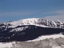Colorado Ski resort. Taken on top of a Colorado Ski Resort royalty free stock photos