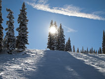 Colorado Ski Slope Royalty Free Stock Photo
