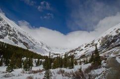 Colorado snöig landskap Royaltyfri Bild